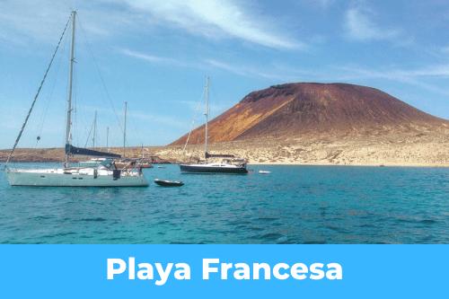 Canary Islands : Playa Fransceca