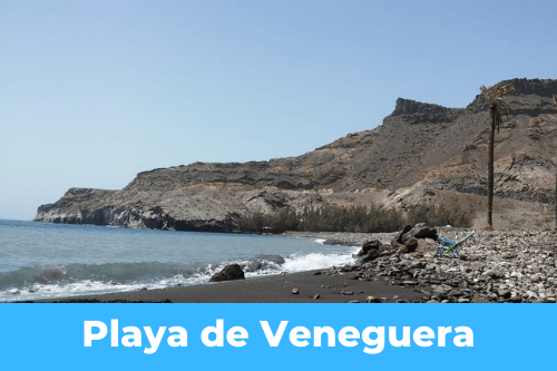 Canary Islands : Playa de Veneguera