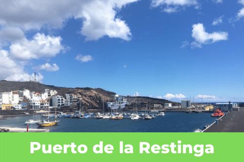 Les Canaries : puerto de la Rostinga