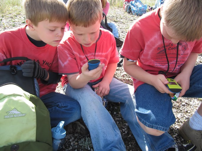 No Child Left Inside: Geocaching with Students