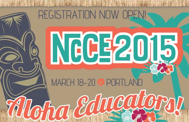 Sign up now for the new #NCCE2015 Gaming and Coding Summit!