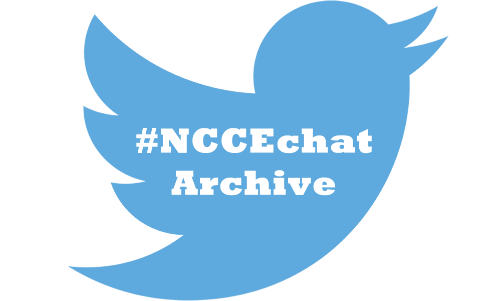 April #NCCEchat Archive
