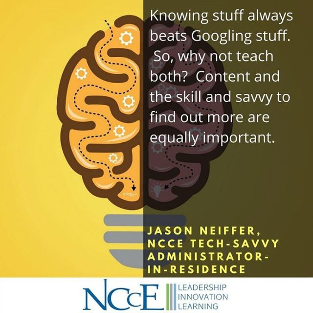 All good things in balance! wisdomwednesday edtech nccechat