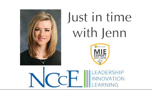 NCCE's Just in Time with Jenn   Episode 4: Tags