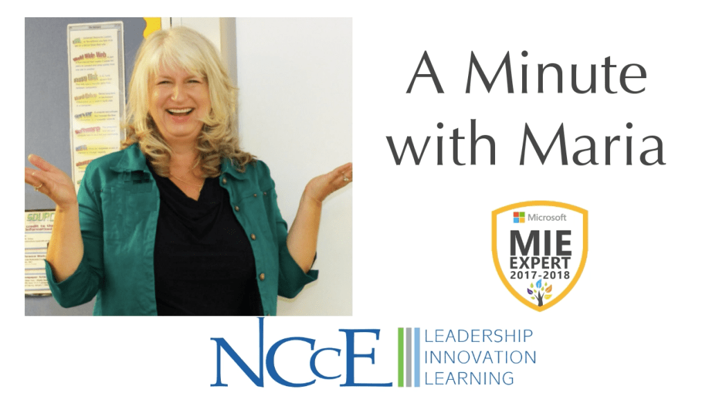 NCCE's A Minute with Maria | Episode 6: Sway Export and Print