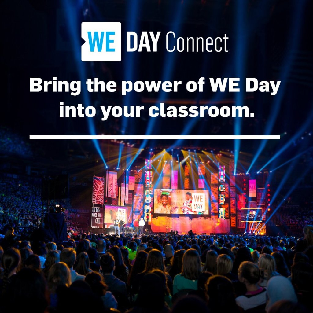 Join the Global Celebration: WE Day Connect