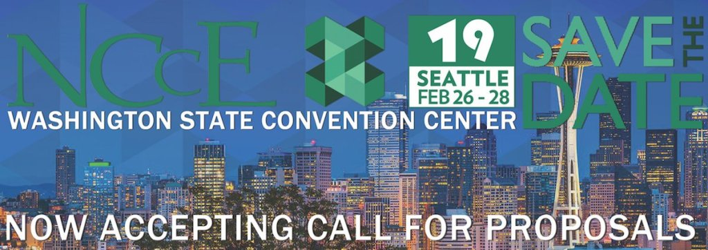Call for Proposals Now Open for NCCE 2019!
