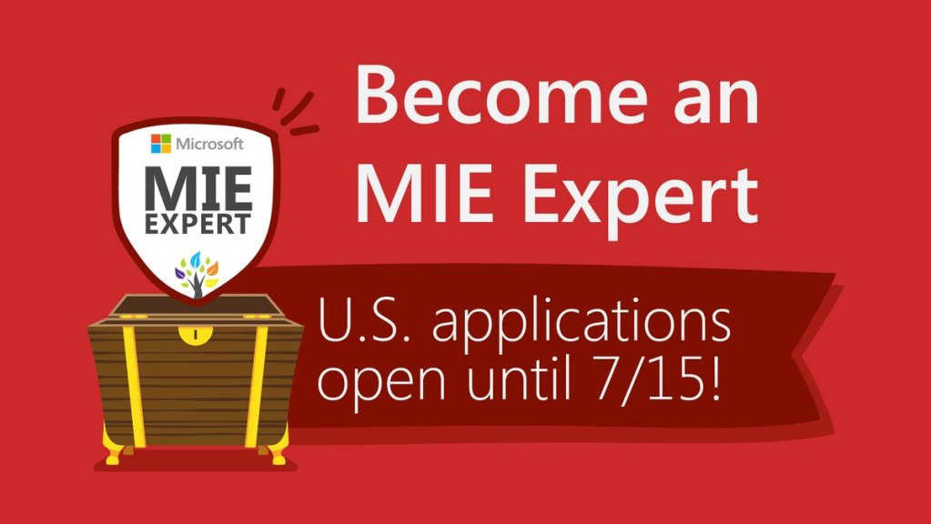 MIE Expert Applications Due July 15th