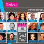 Visual of all TweetMeet Hosts