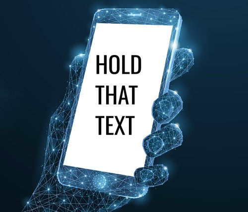Guest Post: Hold that Text
