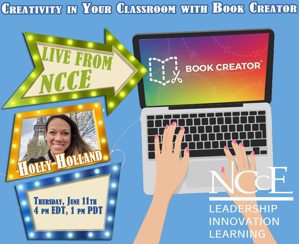"""Live from NCCE Archive: """"Creativity in Your Classroom with Book Creator"""""""