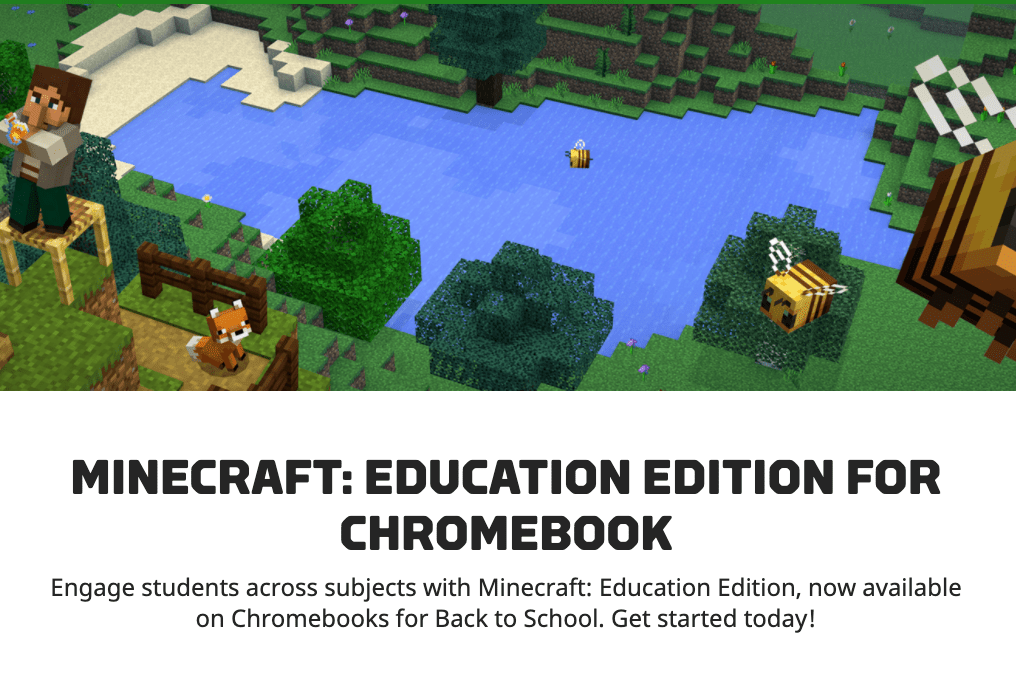 Minecraft: Education Edition Now Available on Chromebook!