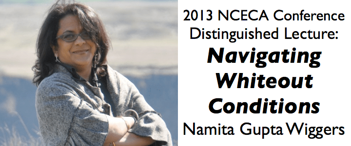 Navigating Whiteout Conditions: 2013 Distinguished Lecture