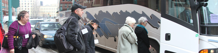 Inside NCECA; Vol. I, Issue I: Bus Tours (New Bedford)