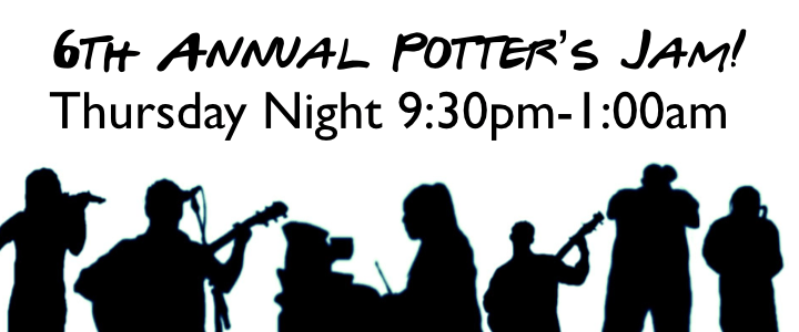 6th Annual Potter's Jam
