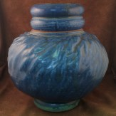 Val Cushing Lidded Jar, NCECA auction circa 2001