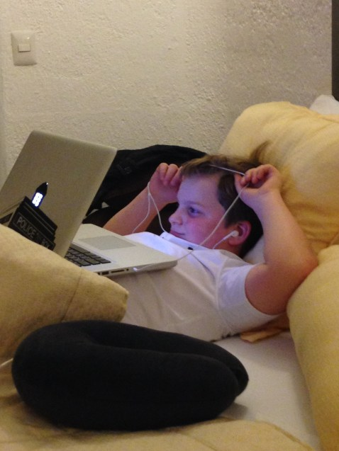 One of the younger grandkids embracing technology