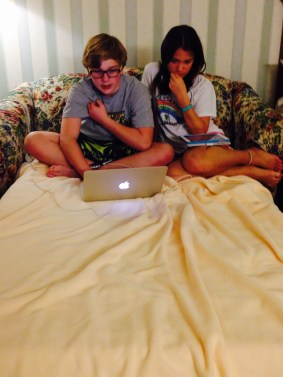 The older two are good friends.