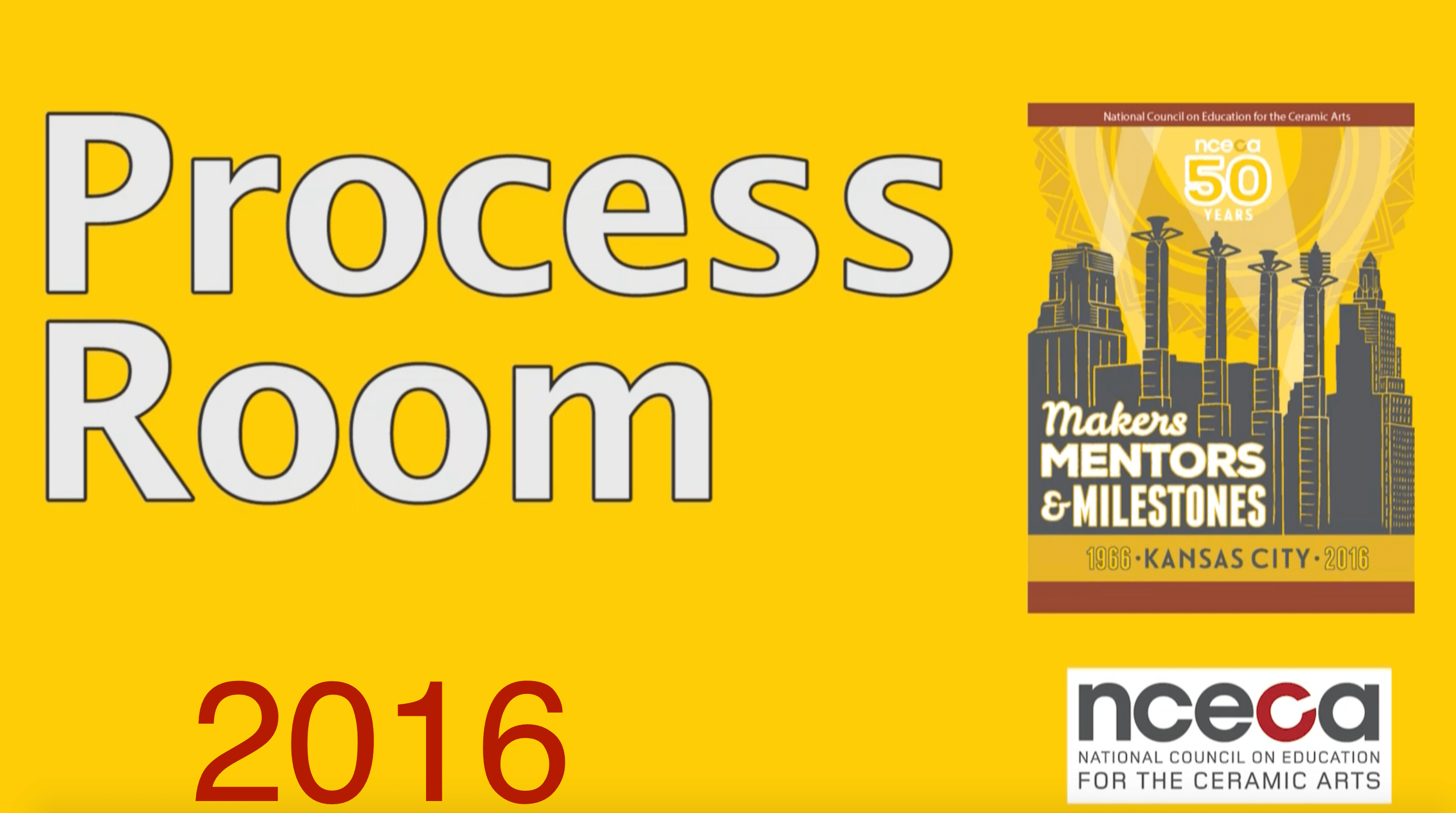 2016 Process Room Videos NOW AVAILABLE