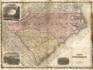North Carolina Map Blog A Great Place To Discuss North - Road map of north and south carolina