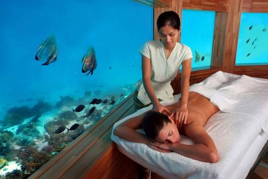 Heard of Underwater Spa? 10 kinds of Spa you did not even know existed.