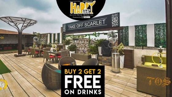 Delhi! The Happy Fest Vibe Has Reached Take Off Scarlet & Its Just Amazing!!