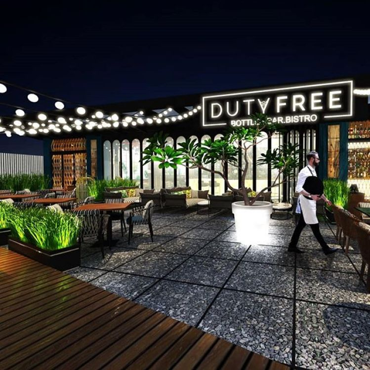 Duty Free Courtyard