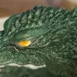ゴジラ2000ミレニアムの眼の塗装