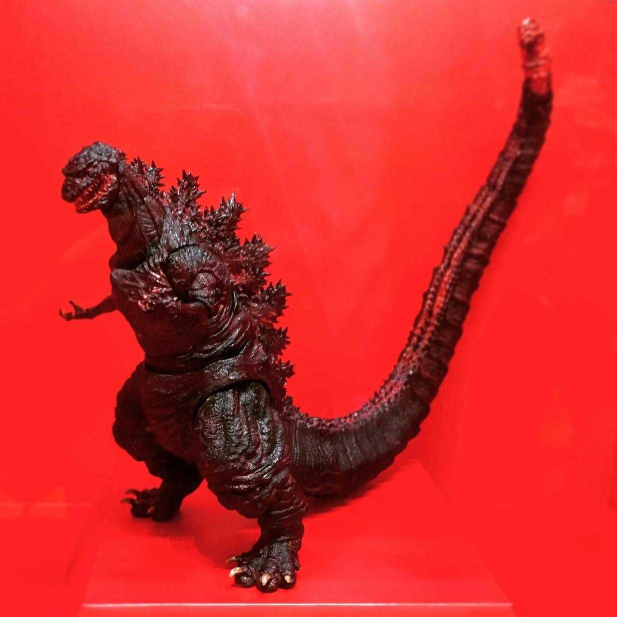 S.H.MonsterArts ゴジラ(2016) 彩色見本