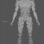ラクガキの立体化 3Dプリント注文