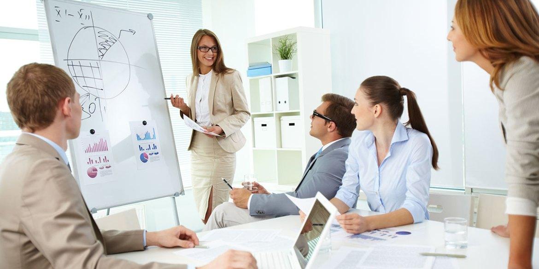 Reunião de Gestão Empresarial