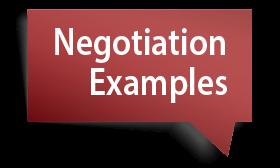 Negotiation Examples