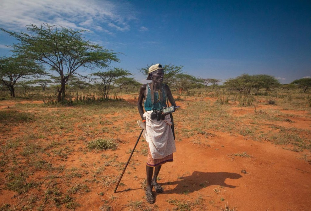 Samburu scout working for Grevy's Zebra Trust | Photo by Nelson Guda © 2019