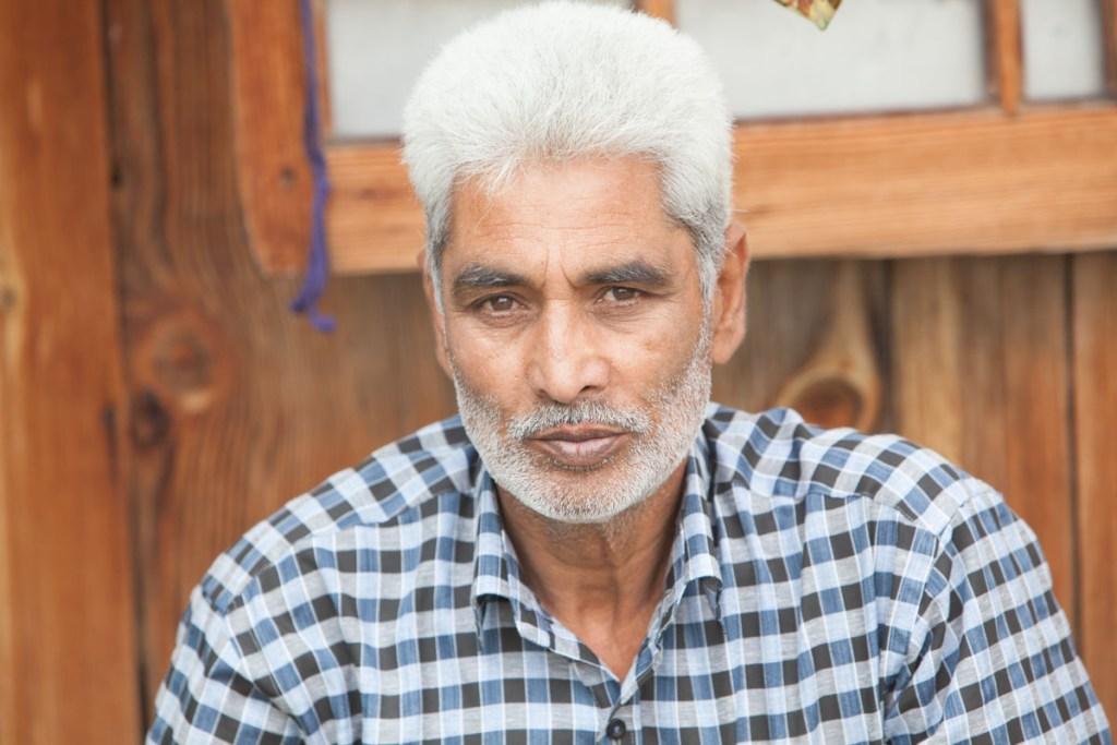 Rashid Dongola in Kashmir © Nelson Guda 2019