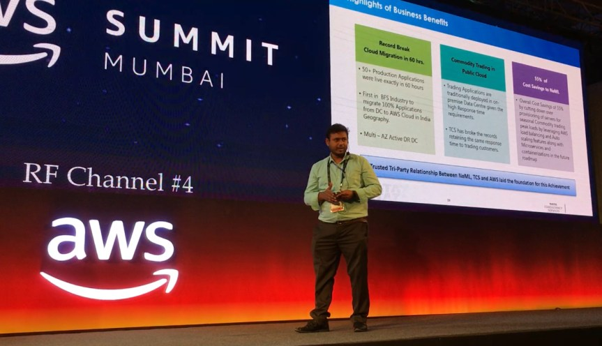 Amitesh at AWS Summit