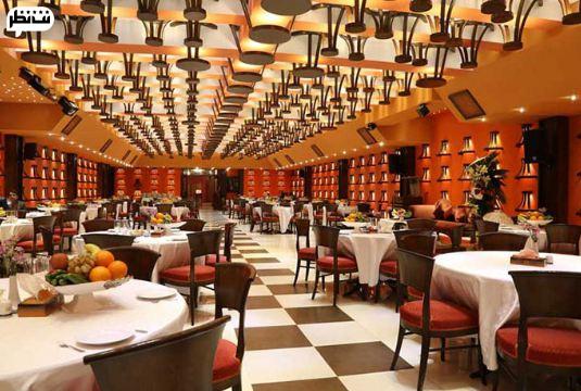 هتل فردوسی برای بهترین صبحانه سلف سرویس تهران