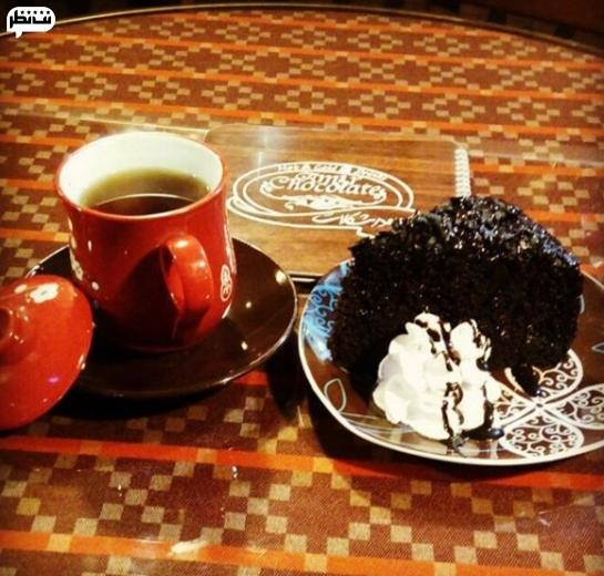 کافه امیر چاکلت یکی از بهترین کافه های رشت