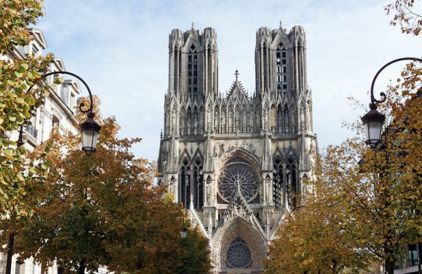 کلیسای ریمز یکی از زیباترین بناهای فرانسه