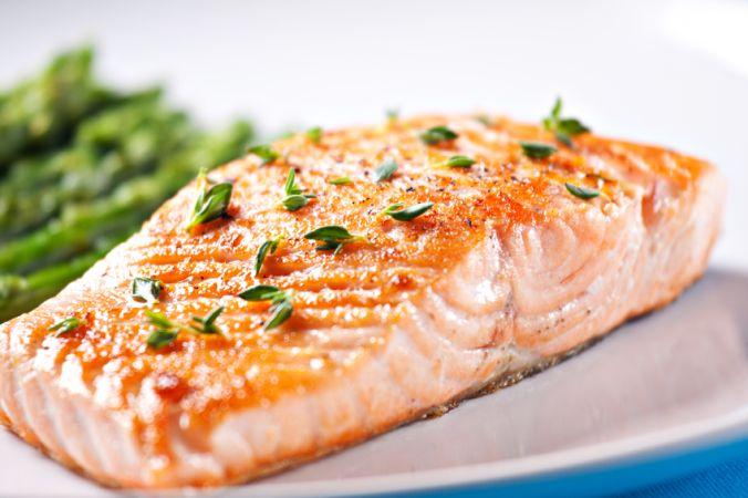 ماهی سالمون بهترین ناهار رژیمی