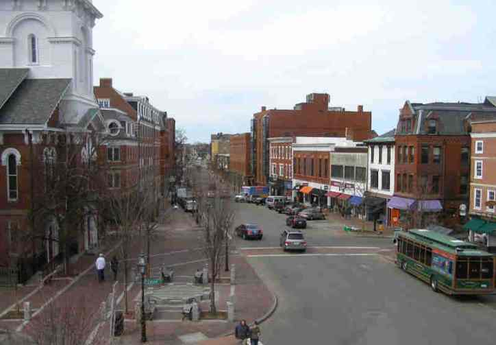 Portsmouth NH Downtown Market Square