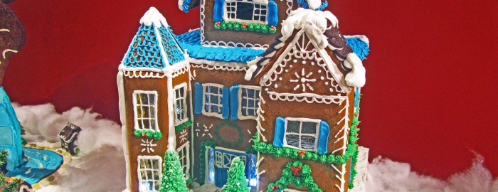 Portsmouth NH gingerbread house contest