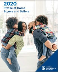 National Association of Realtors 2020 profile of home buyers and sellers