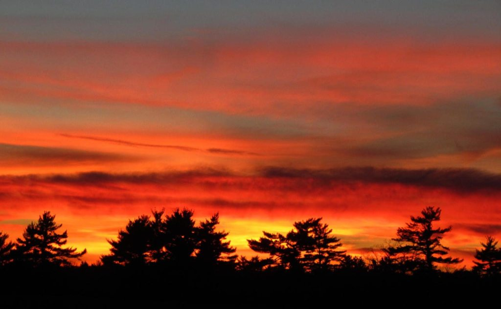 Portsmouth NH Real Estate listings for sale fiery sunset