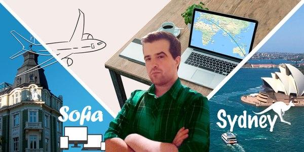 Traveling Hristo Hristov