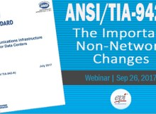 Webinar TIA-942-B changes