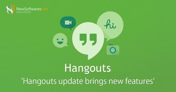 Hangouts update