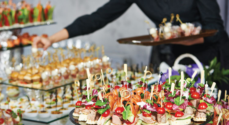 Upscale Buffet Menu Ideas