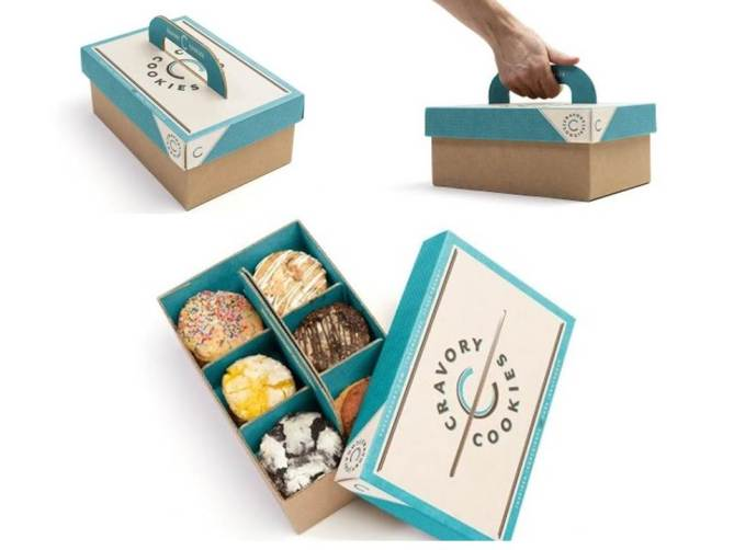 Desain packaging cookies