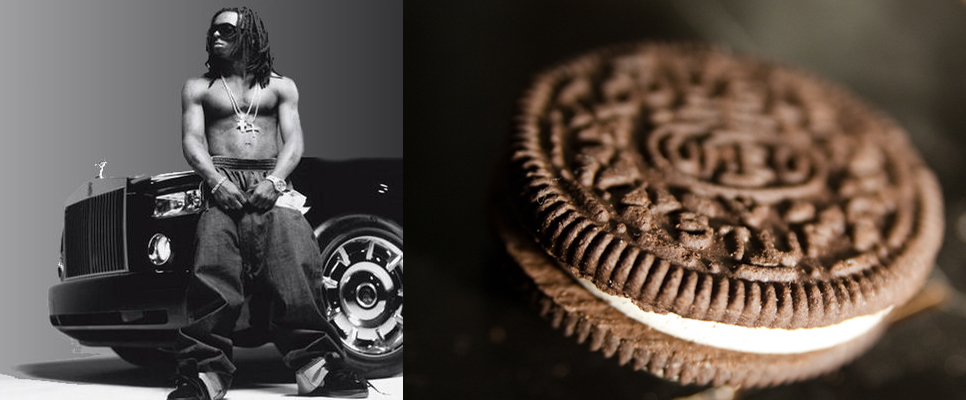 Oreo cookie and rapper Lil' Wayne fued