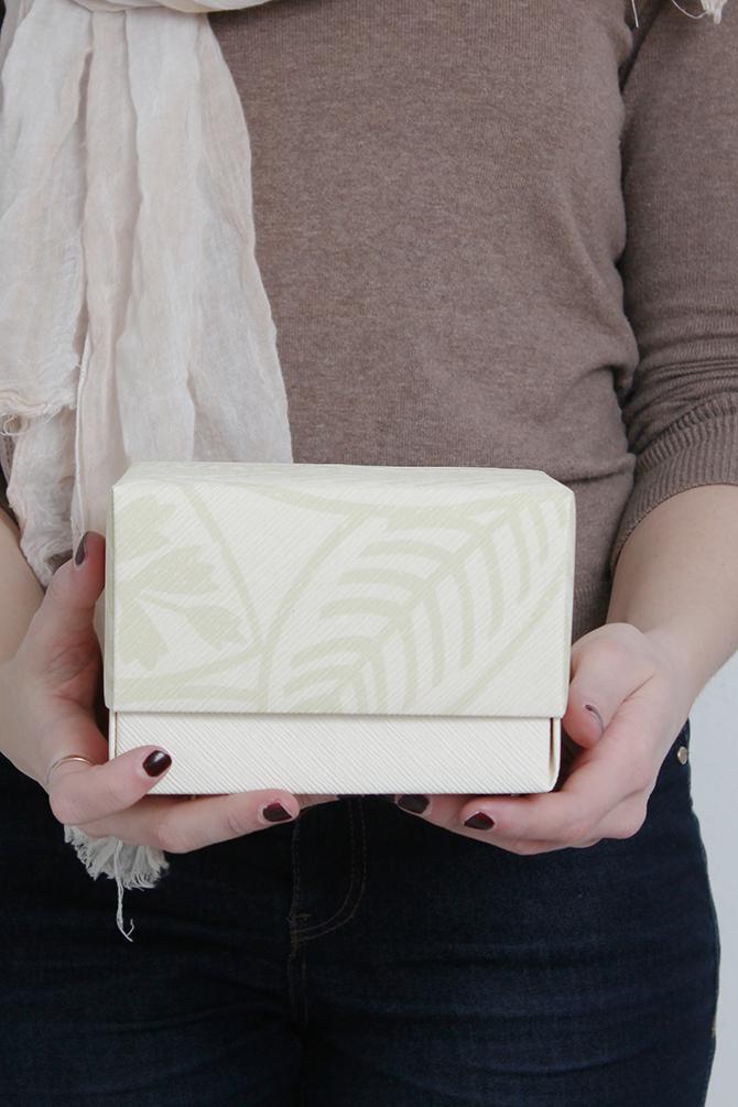 DIY caja de regalo de papel plegado